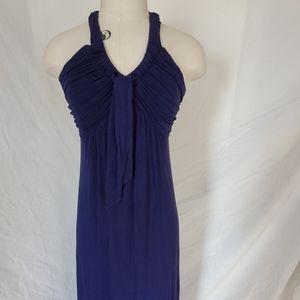 Calvin klein maxi dress navy blue
